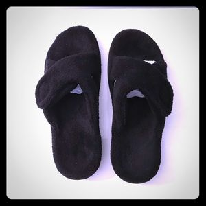 VIONIC TERRY CLOTH ORTHOTIC SOLE RELAX SLIPPER